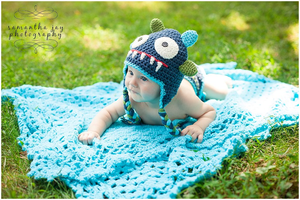 Media PA Baby Portrait Photography I Ben 6 Month Session