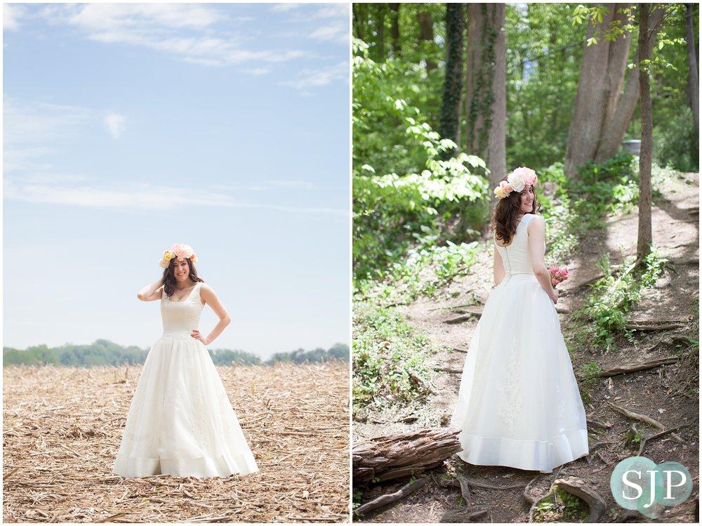 Media, PA Bridal Shoot- Ridley Creek State Park: Jacqueline