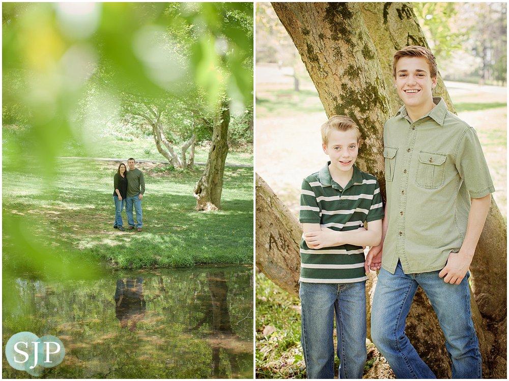 Greenville, DE Family Portrait Session- Valley Garden Park: The Finch Family