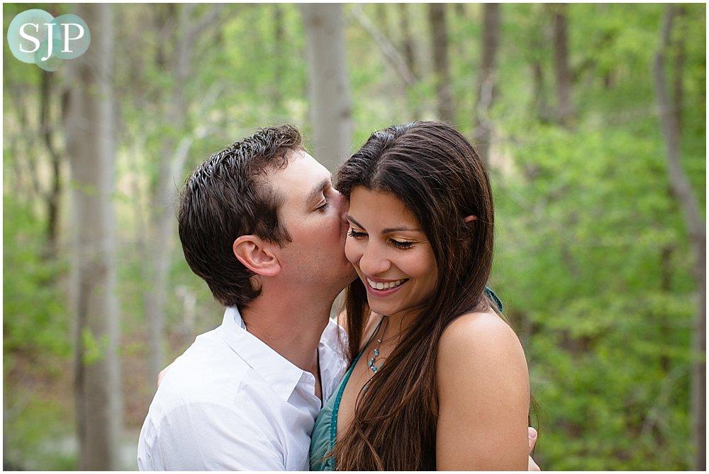 Greenville, DE Engagement Session- Valley Garden Park: Christine and Jeremy