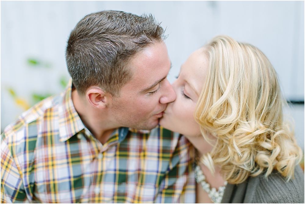 Ellen and Nick // Peace Valley Park Rustic Engagement Photography