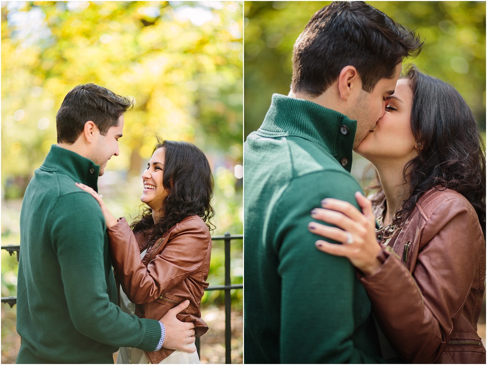 Julianna + Dave // New York City Engagement Session {East Village & Brooklyn Bridge}