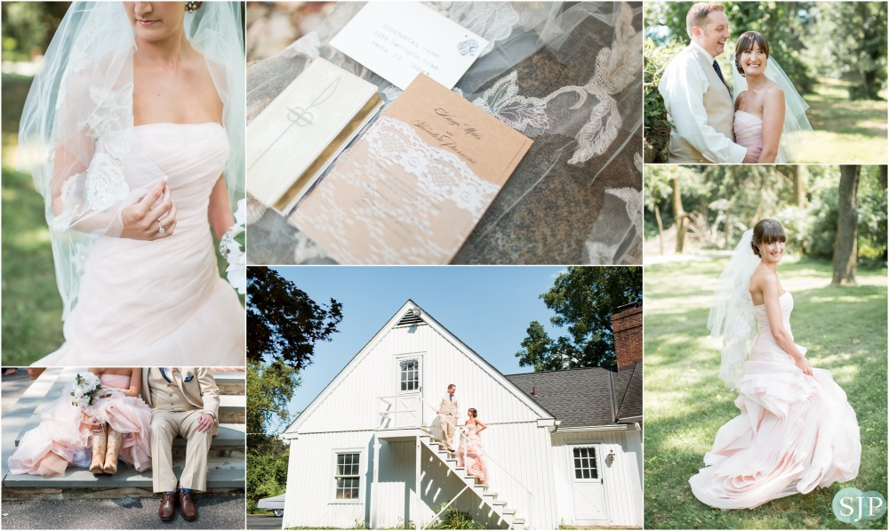 Roostertail Farm, Glen Mills PA Wedding Photography | Married Monday | Amy + Ted Wedding Preview!