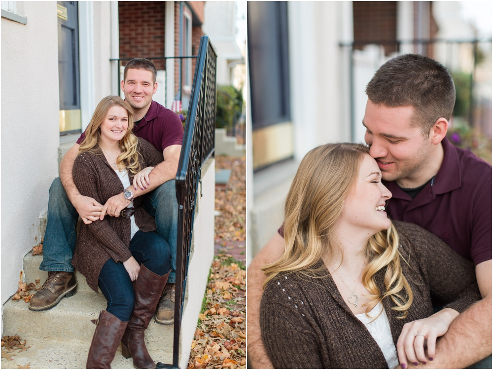 High-School Sweethearts Hometown Engagement Session | Media PA Engagement Photographer | Megan and Carl