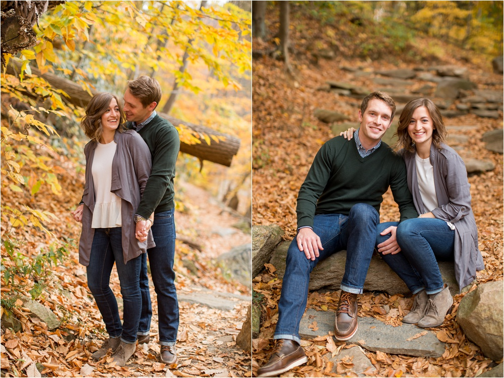 Late Fall Forbidden Drive Engagement Session   Philadelphia PA Wedding Photographer   Lauren and Nathan