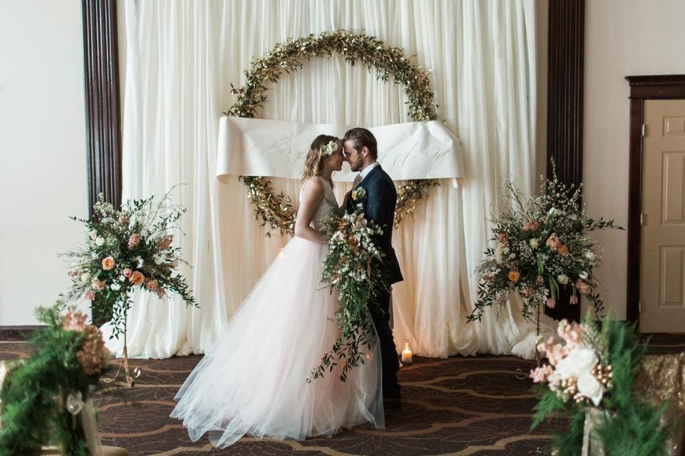 South Jersey Wedding Photography | Winter Garden Wedding Inspiration | Running Deer Golf Club Wedding Photography