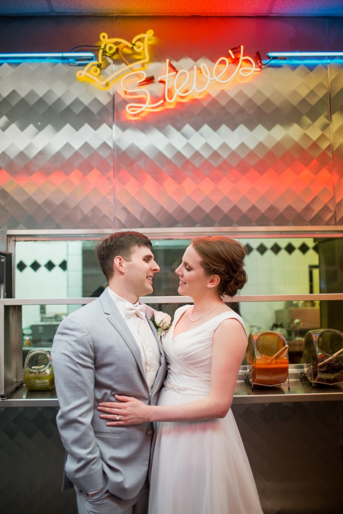 Philadelphia Wedding Photographer | Cheese Steaks and Running Shoes | Stanley and Julie
