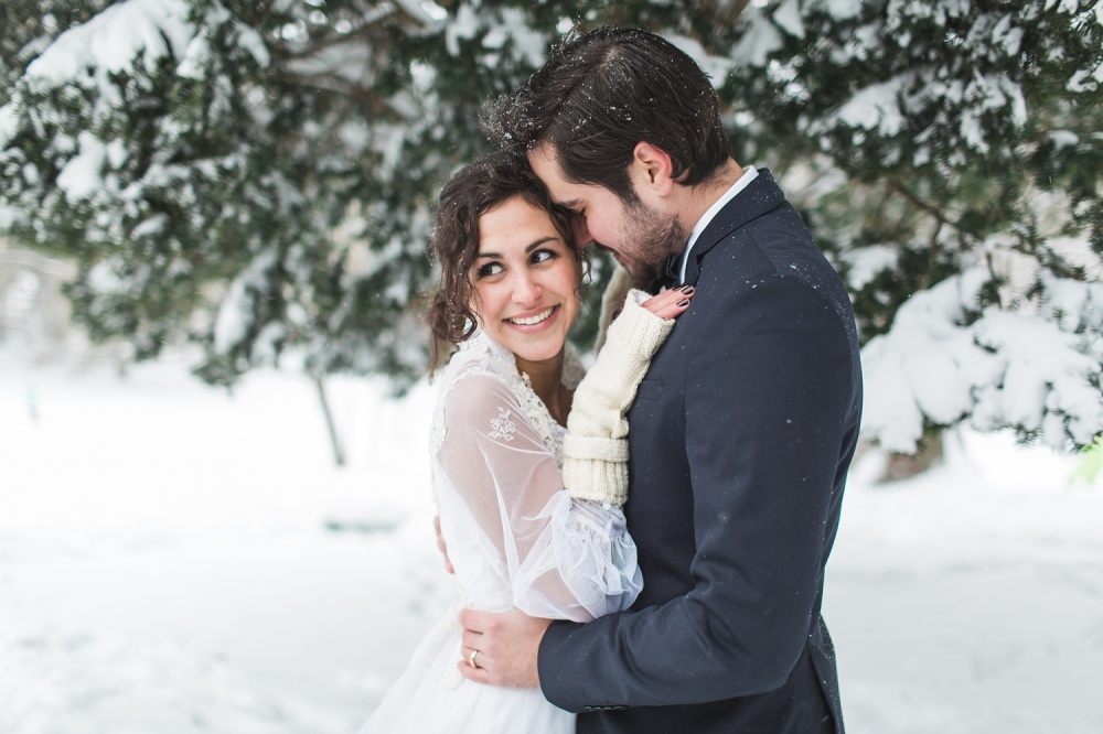 Winter Wedding Inspiration | Blizzard of 2016 | Philadelphia Wedding Photographer | Julianna & David