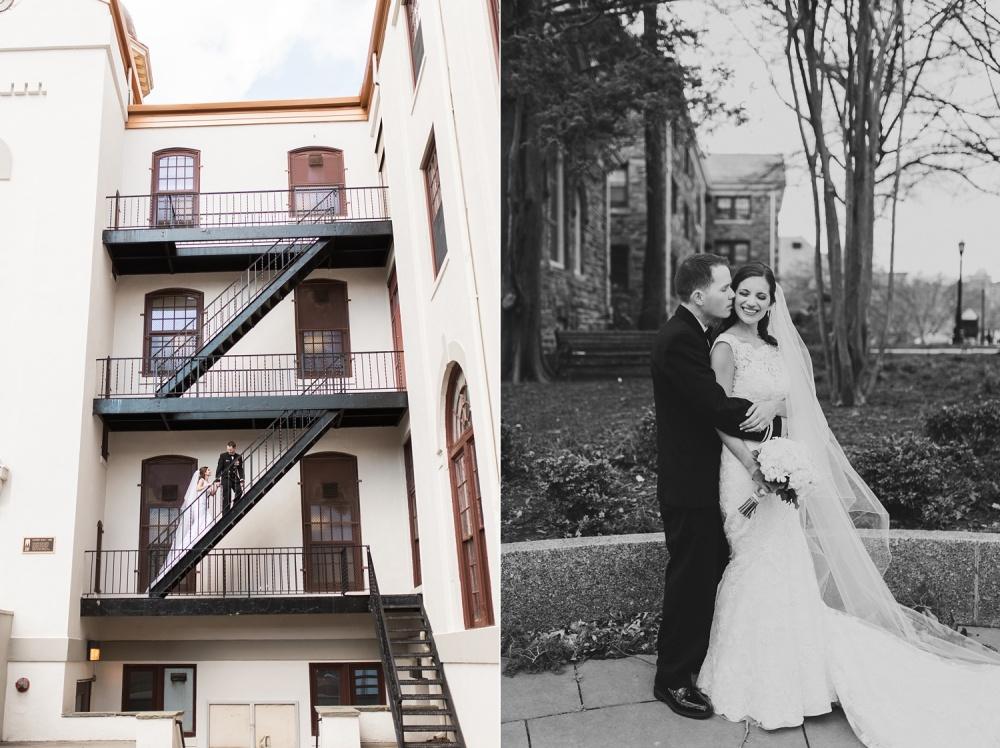 Mendenhall Inn Wedding Photography | Villanova Wedding Spring Ceremony | Lauren and Liam