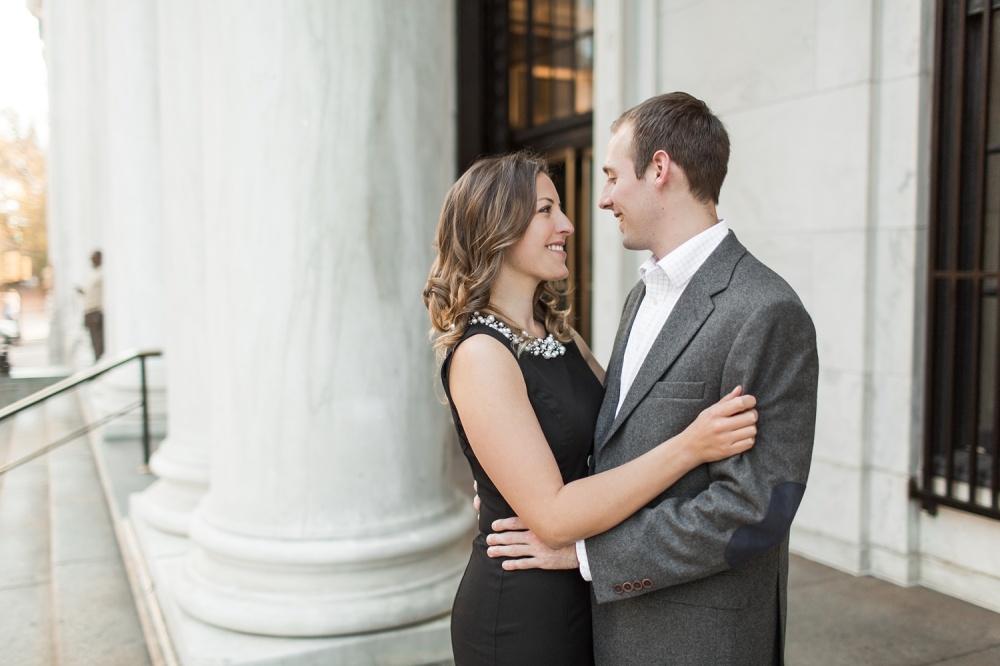 Washington Square Park Engagement Session | Center City Philadelphia Photographer | Kimberly and Jesse