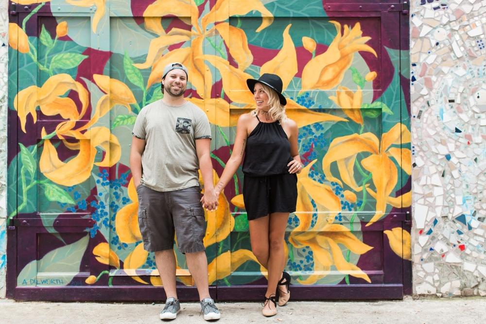Philadelphia Magic Gardens Engagement Session | Philadelphia Wedding Photographer | Rachel and Andy