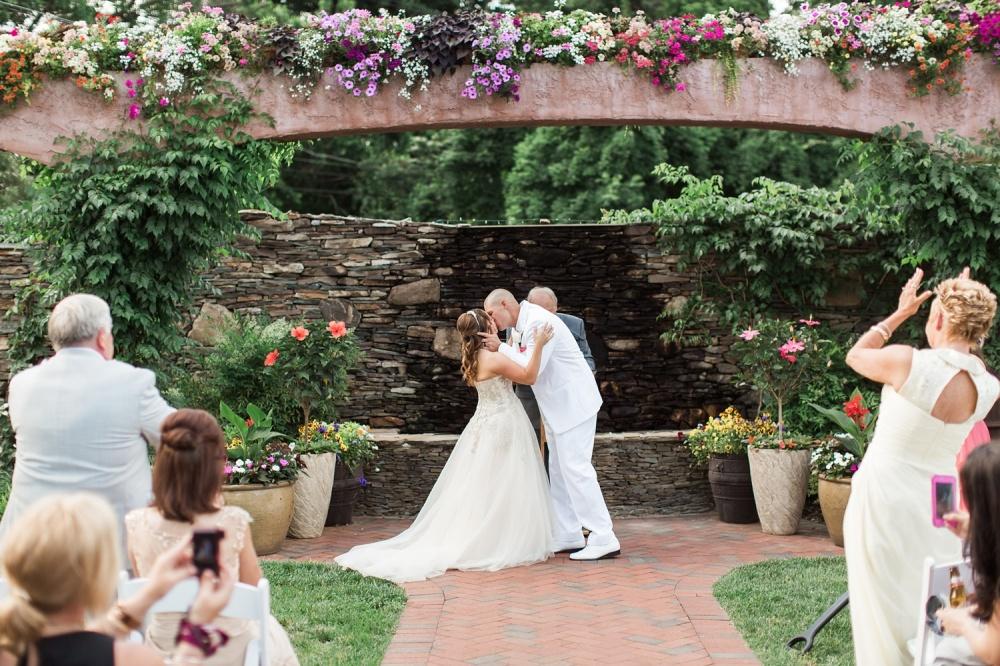 The Gables at Chadds Ford Wedding Photography   Summer Garden Wedding   Melissa and Matt