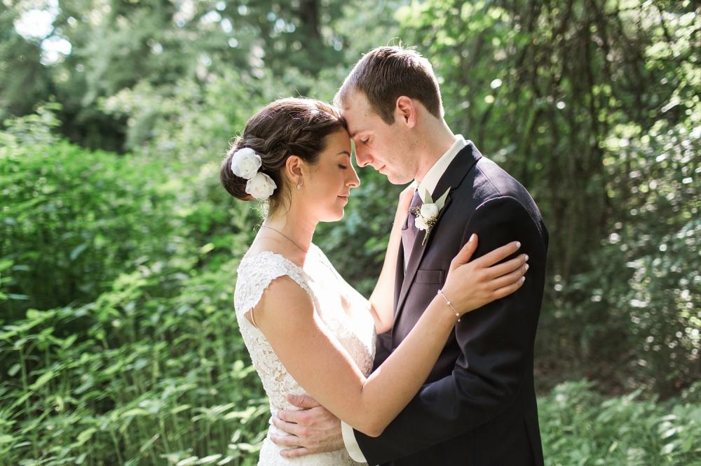 Curtis Arboretum Wedding Photography | Mid-Summer Wedding | Kimberly and Jesse