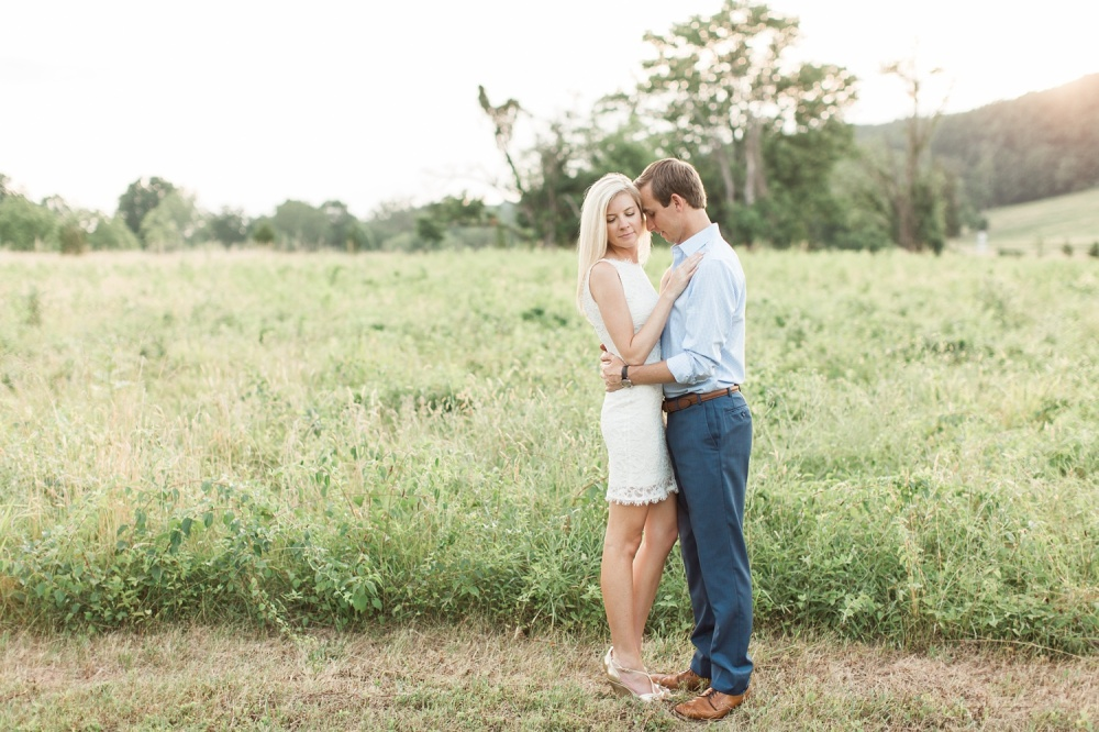 Valley Forge National Park Engagement Photographer | Summer Sunset Engagement Session | Lauren and Jason