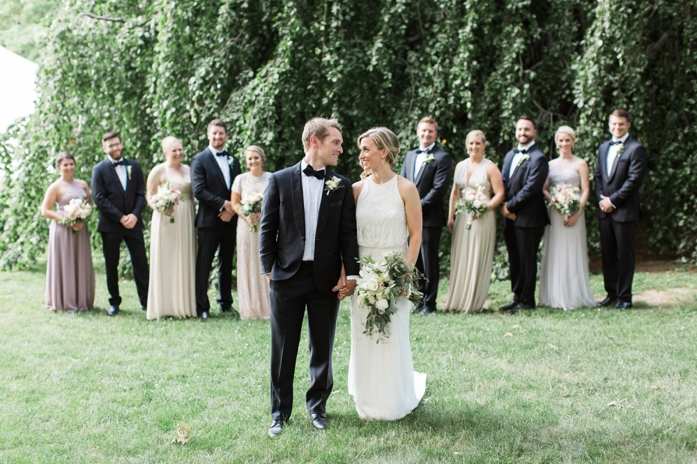 Stirling Guest Hotel Wedding Photography | Romantic Summer Tuscan Inspired Wedding | Lauren & Nathan