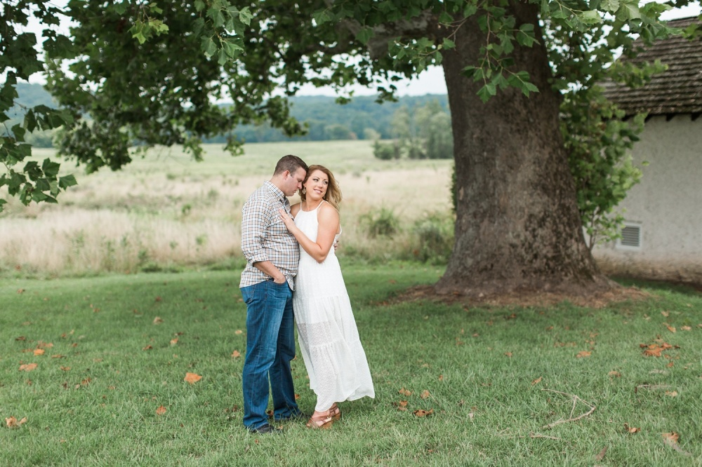 Washington Memorial Chapel Engagement Session | Valley Forge Engagement Photographer | Tiffany and Dan