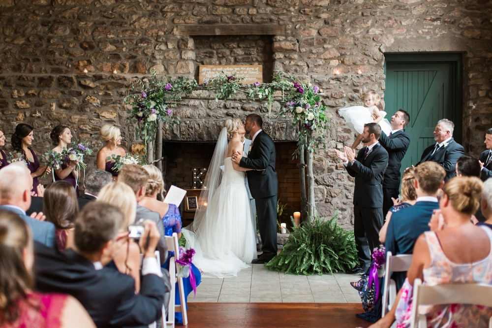 Holly Hedge Wedding Photography    Purple and Cream Wedding Inspiration   Brittany and Chris