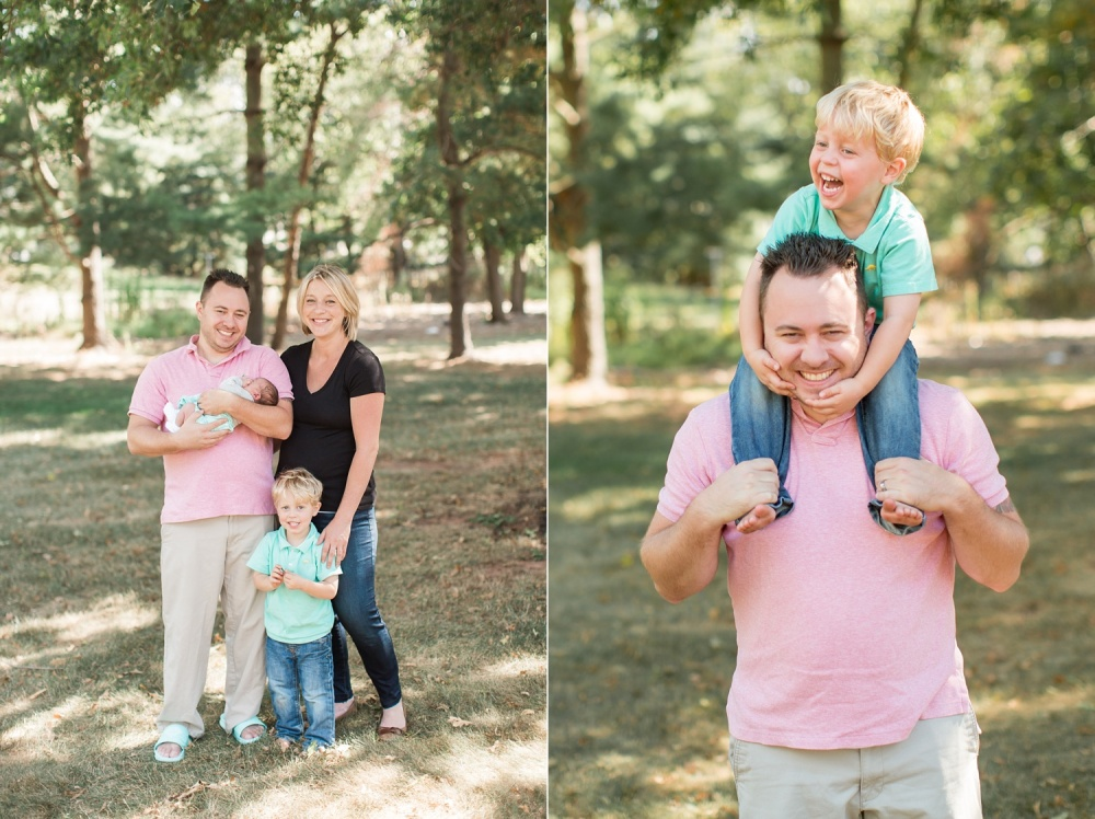 New Jersey Newborn Photographer | Lifestyle Family Photography | Cami and Carter