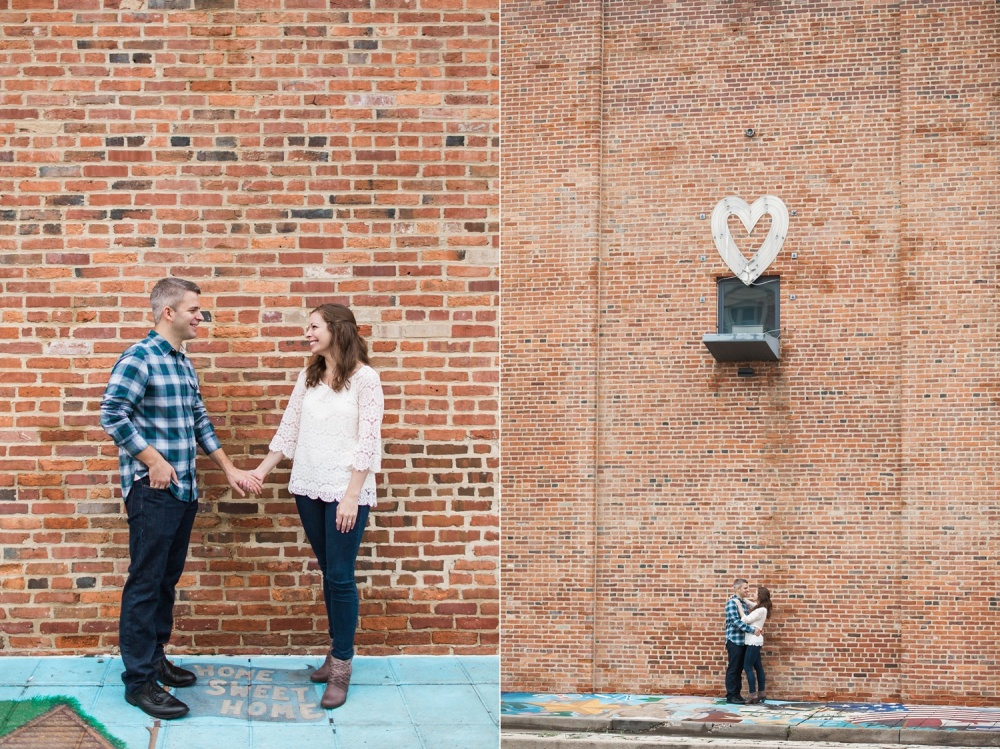Baltimore Inner Harbor Engagement Session | American Visionary Museum | Anissa and Andrew