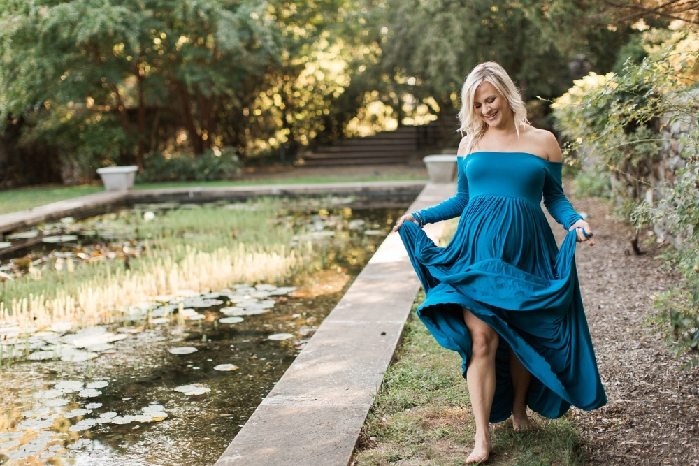 Wilmington DE Maternity Photography | Marian Coffin Gardens at Gibraltar Maternity Session | Ariel