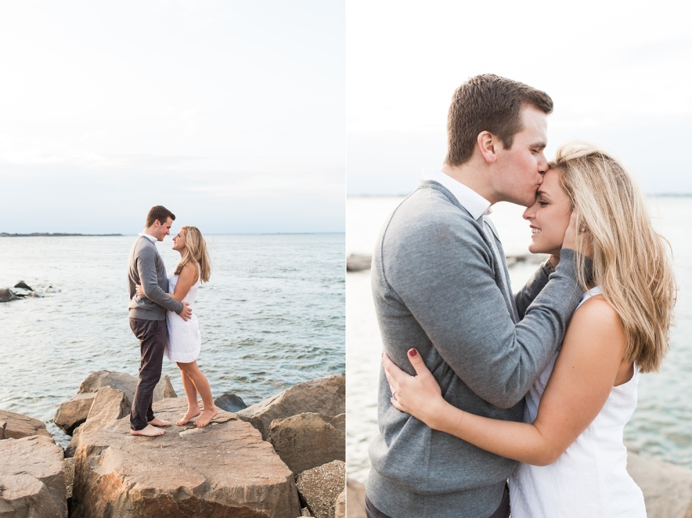 Long Beach Island Engagement Session   Golden Hour Seaside Engagement Photography   Taylor and Shayne
