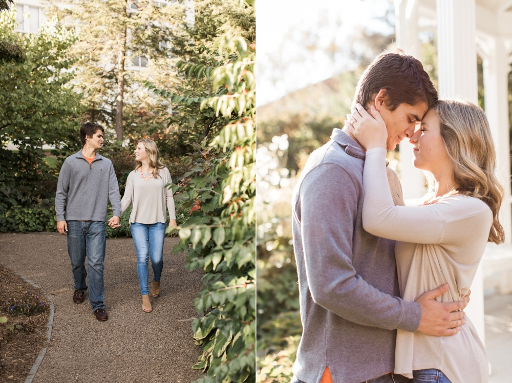 Penn State Engagement Session   Pennsylvania Wedding Photographer   Michelle and Marcus
