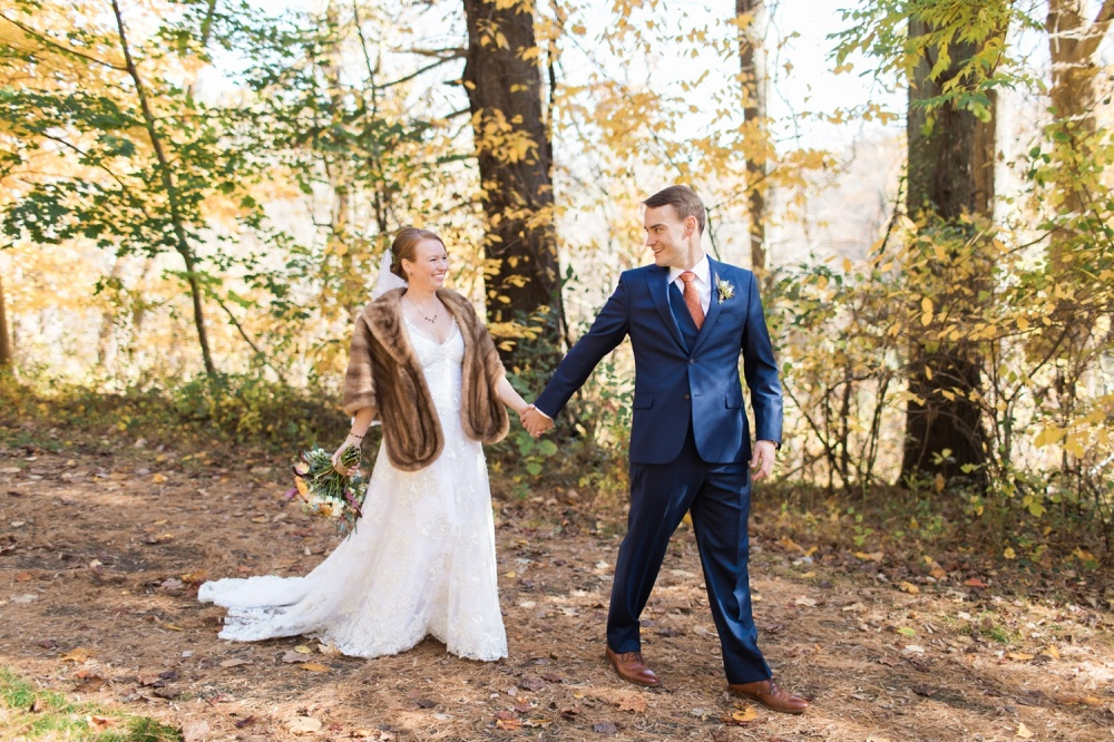 Ridley Creek State Park Wedding Photography | Hunting Hill Mansion Wedding | Bri and Tomas