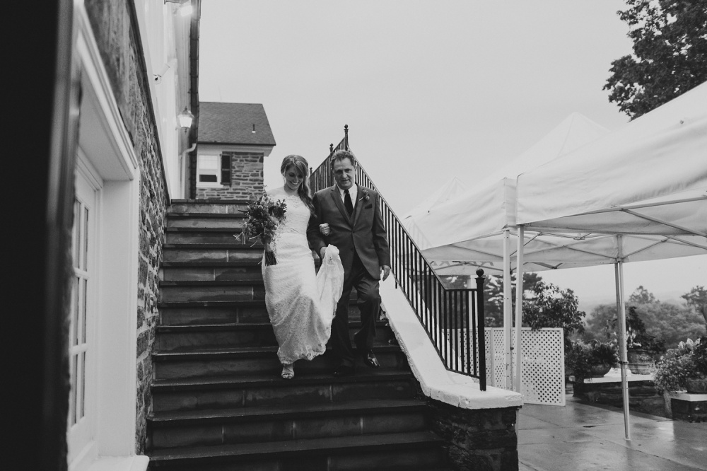 Manufacturers Golf & Country Club Wedding Photography | Moody Fall Wedding Tones | Catherine and Ed