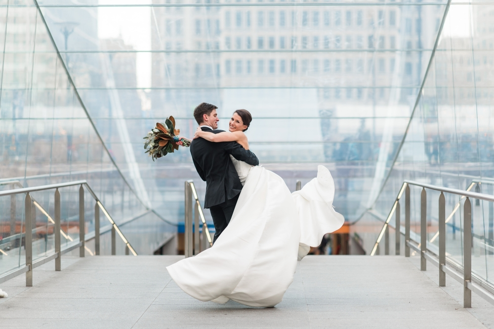 Philadelphia Center City Wedding Preview | Cathedral Basilica of SS Peter and Paul and Crystal Tea Room Wedding | Nan and Dan