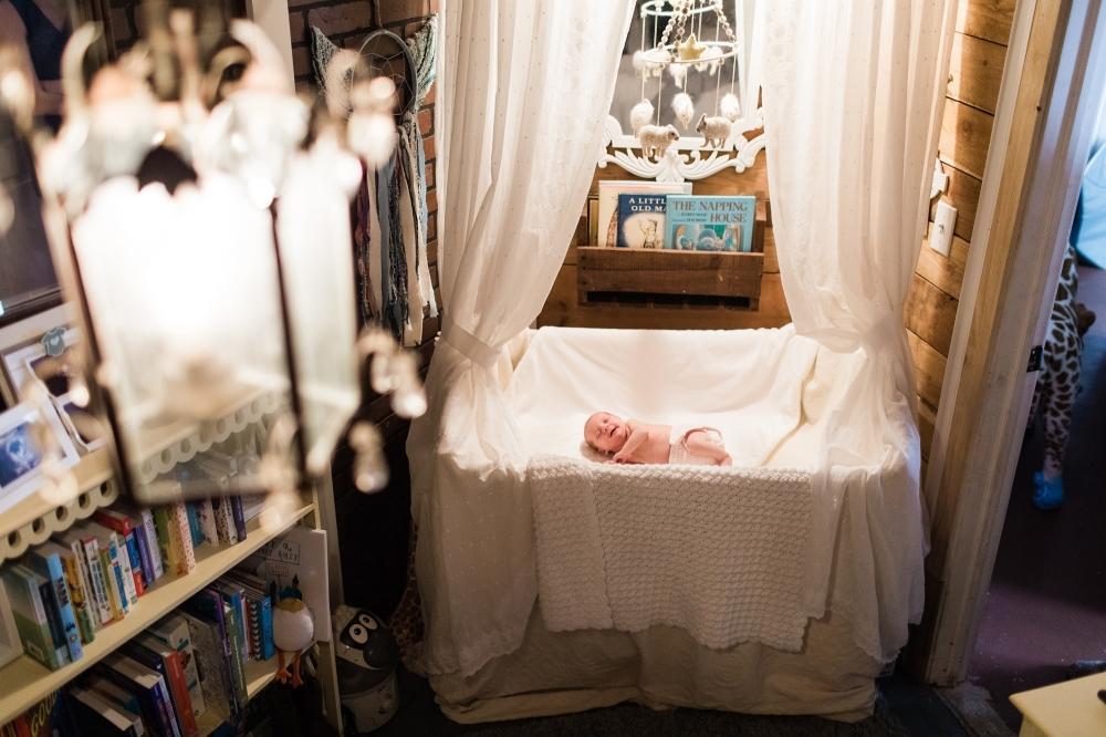 Glen Mills Newborn Lifestyle Photography | SJP Baby | Sunny