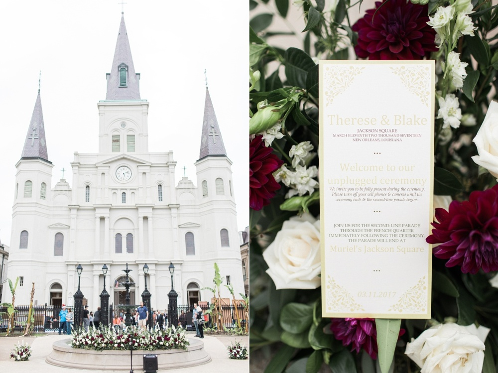 Destination French Quarter Jackson Square New Orleans Muriels Wedding Photographer