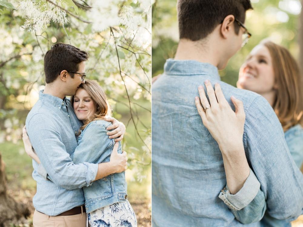 Romantic French Inspired Bartram's Garden Philadelphia PA Engagement Session Photographer