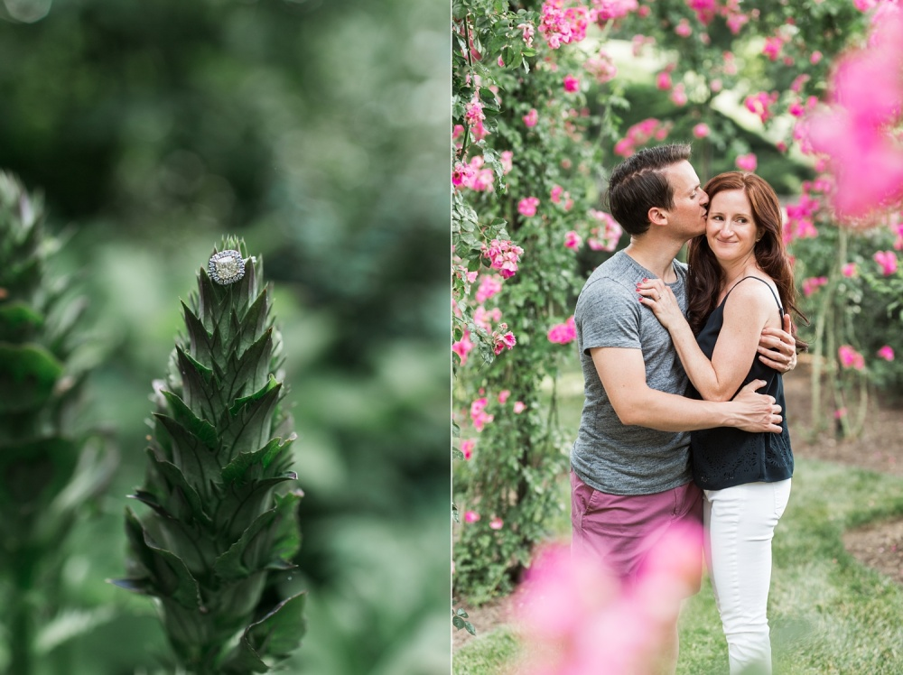 Secret Garden Engagement Photography | Spring Engagement Session | Kristin and Steve Longwood Gardens