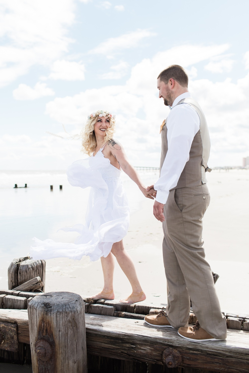 The Flanders Hotel Wedding Photography | Ocean City NJ Wedding Photographer | Gabriella and David